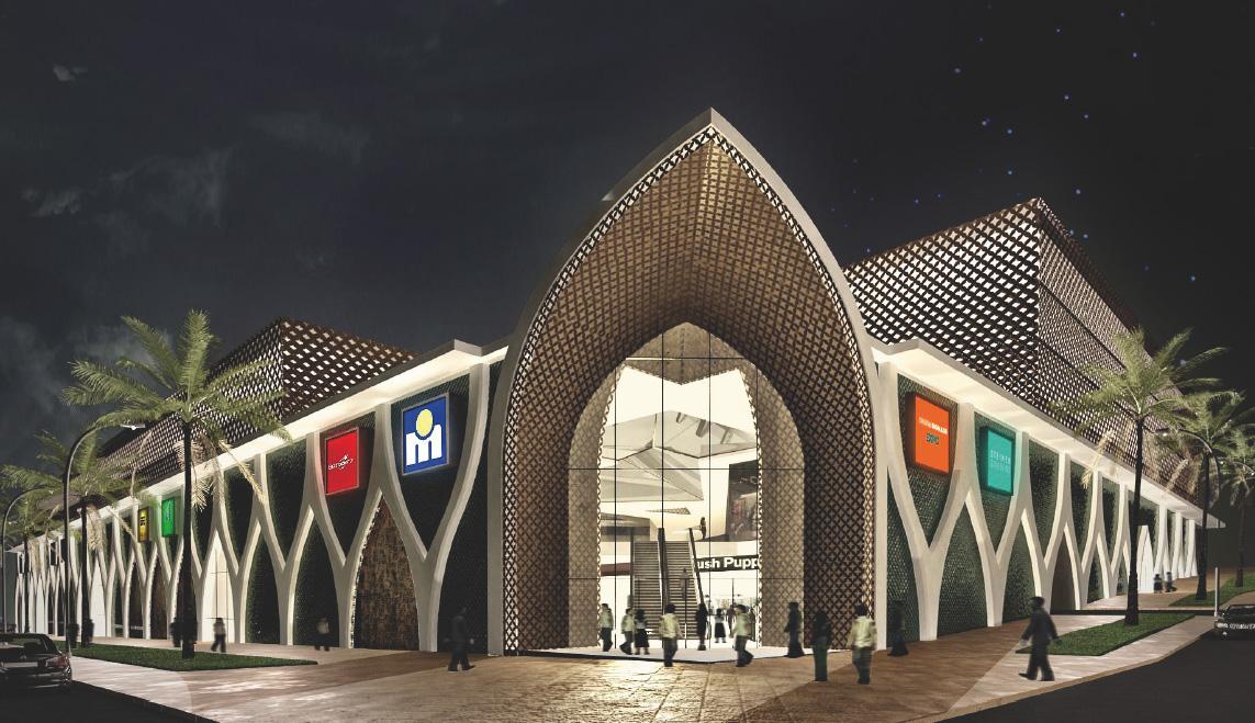 Centre commercial Ibn Tachefine | ©TechniConsult