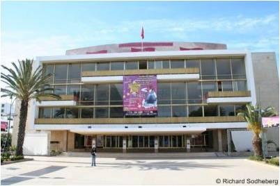 Théâtre Mohamed V Rabat | ©TechniConsult